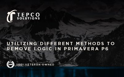 Utilizing Different Methods to Remove Logic in Primavera P6